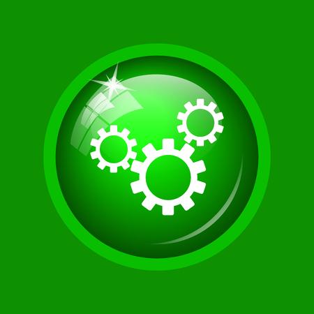 volume knob: Settings icon. Internet button on green background.