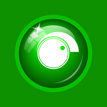 volume knob: Volume control icon. Internet button on green background.