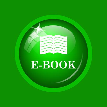 scribe: E-book icon. Internet button on green background.