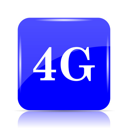 3g: 4G icon, blue website button on white background.
