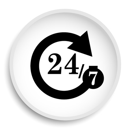 hrs: 42575 icon. 42575 website button on white background.
