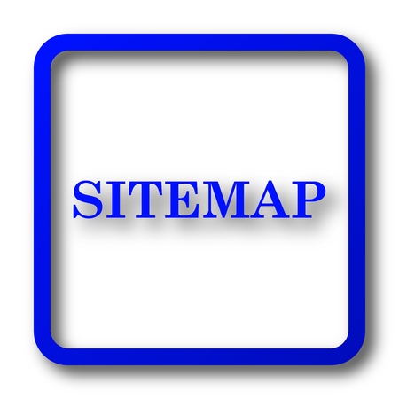 icons site search: Sitemap icon. Sitemap website button on white background.