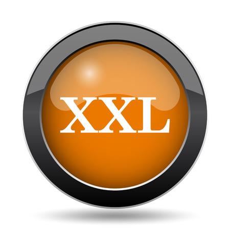 XXL  icon. XXL  website button on white background. 版權商用圖片