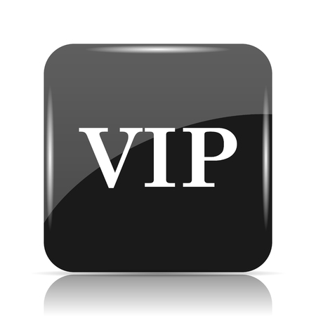 the magnificent: VIP icon. Internet button on white background. Stock Photo