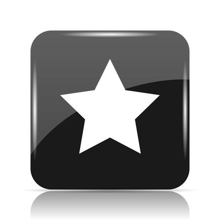 Favorite  icon. Internet button on white background. Stock Photo