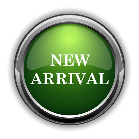 New arrival icon. New arrival website button on white background Stock Photo