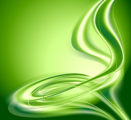 space background: Abstract background green Illustration