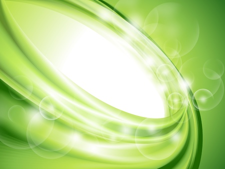 Abstract green background  no mesh  Illustration