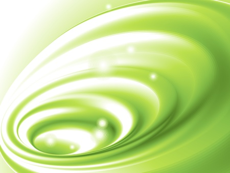 abstract swirl: Abstract green background (no mesh)
