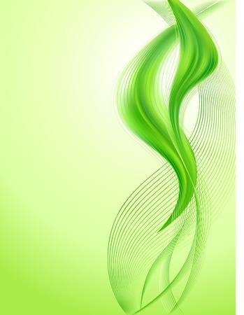 green lines: Abstract green background