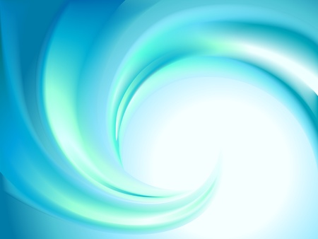 textured effect: Abstract blue swirl