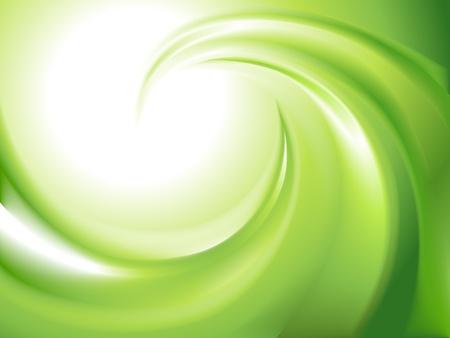 Remolino abstracto verde sin malla