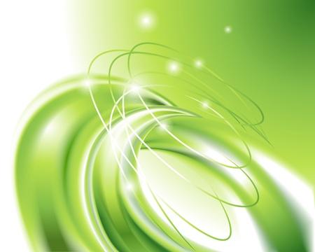 color image creativity: Resumen fondo verde Vectores