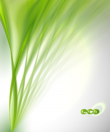 green power: Abstract Green Background