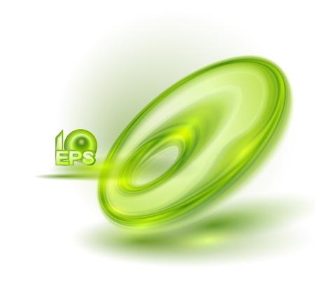 Abstract green bubble Stock Vector - 16453925