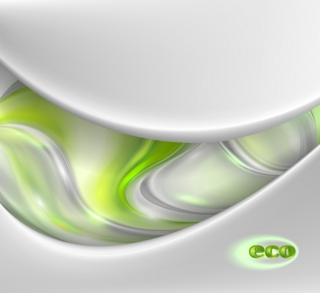 glob: Abstract green eco background
