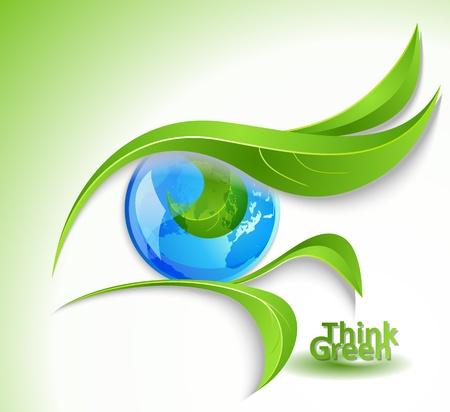 icono ecologico: Eco icon - ojo con los latigazos-deja