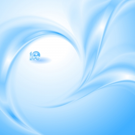 fresh air: Abstract Blue background