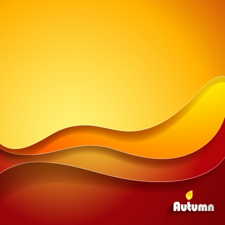 swirl composition:  Abstract gold background  Illustration