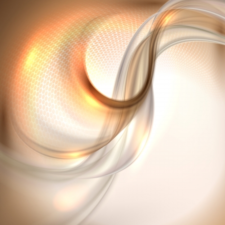 Abstracte bruine golvende achtergrond