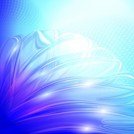 shiny background: Abstract blue winter shiny background.