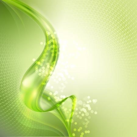 fond abstrait orange: R�sum� Fond Vert