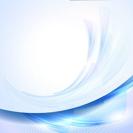 Abstract blue waving background 向量圖像