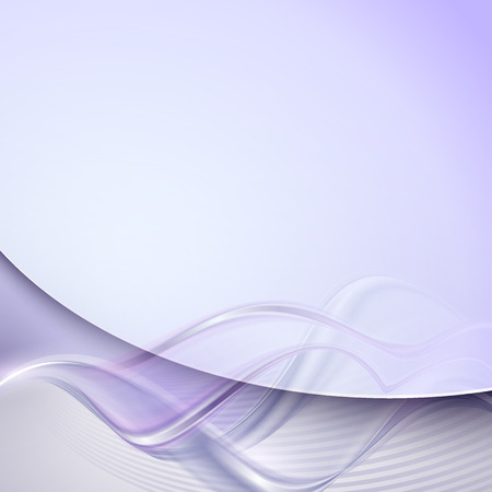 Abstract purple wave background Ilustrace