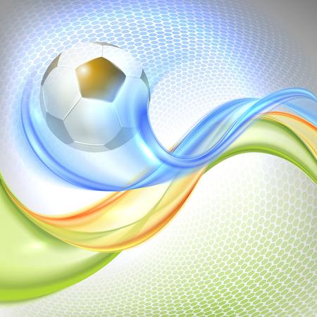 banni�re football: Creative football Vector Design Illustration