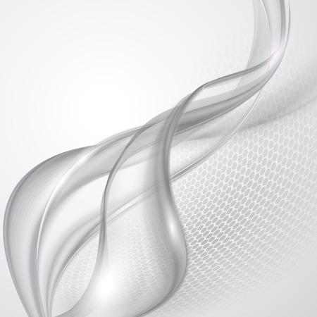 curvas: Fondo de onda gris abstracto