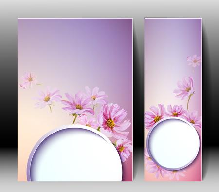 Frühlingsblumen Einladung Vorlage Karte. Ostern, Hochzeit, Ehe, Braut, Geburtstag, Valentinstag,