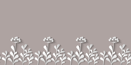 Wild flowers pattern Paper design