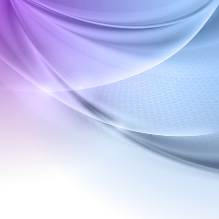 wavy background: Abstract blue purple wave vector background