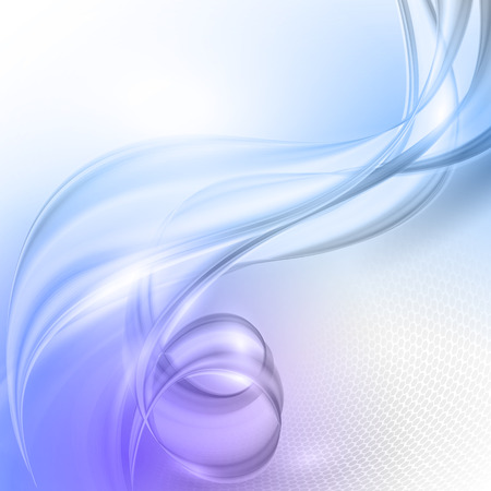 blue wave: Abstract blue purple wave vector background