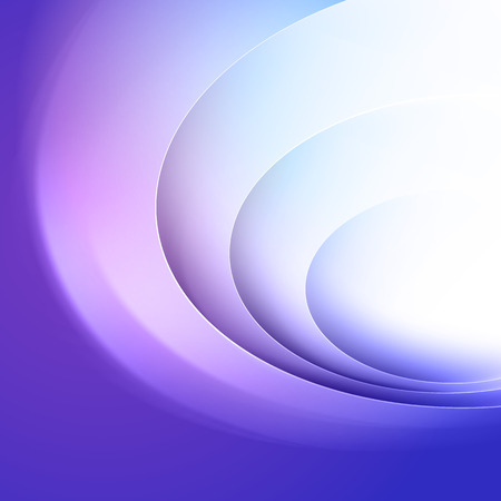 blue lines: Abstract blue background with circle light lines Illustration