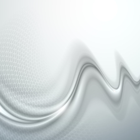 wave abstract: Gray abstract wave light background