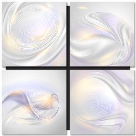 Abstracte golf pearl tender achtergrond Stockfoto - 44560805