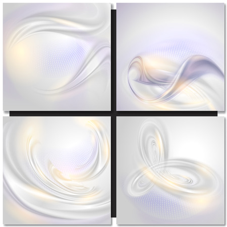 Abstract wave pearl tender background