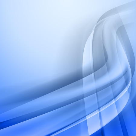 blue waves: Abstract blue vector background.  Corner from light and shadow Illustration