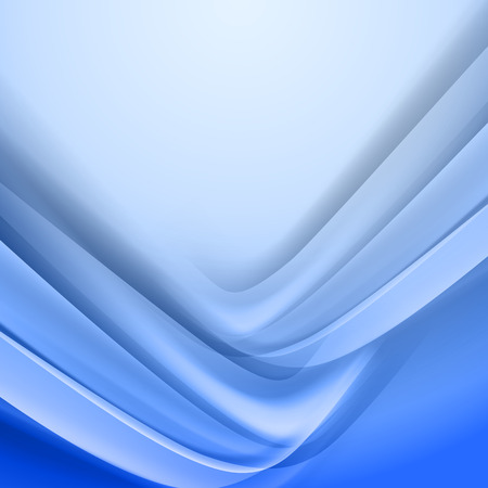 smooth: Abstract blue vector background.  Corner from light and shadow Illustration