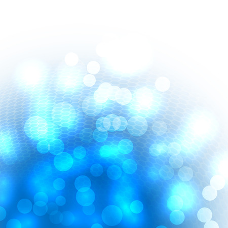 wallpapers: Blured lights abstract blue background
