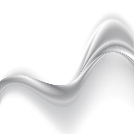 Zilvergrijs abstract Golf vector achtergrond