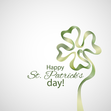 typographical: Saint Patricks Day Typographical Vector Background