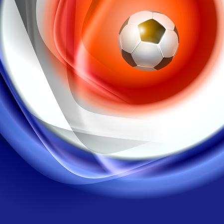 uefa: Football background with france flag colors. Vector illustration. Soccer championship card. Illustration
