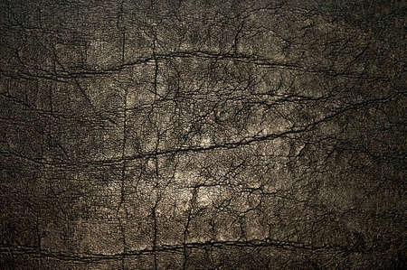 Old and dark leather background Stock Photo - 9239935