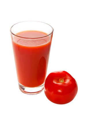 Fresh tomato ant tomato juice