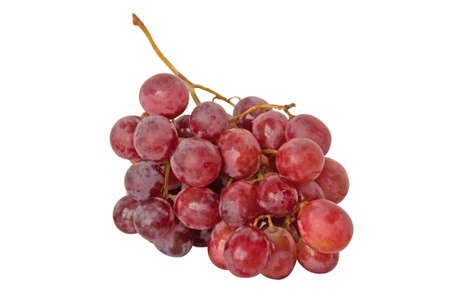 The isolated wet grape cluster  Stock Photo - 9239927
