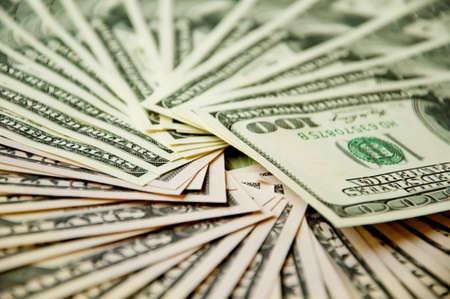 A batch of USA dollars