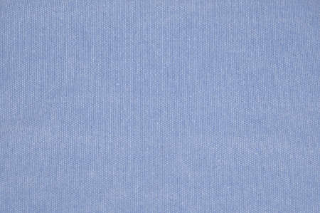 Blue linen background with fine fibers