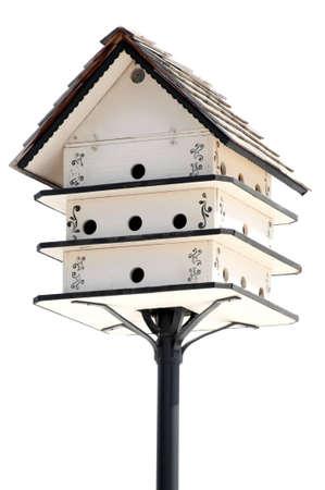 The many-tier isolated bird crib